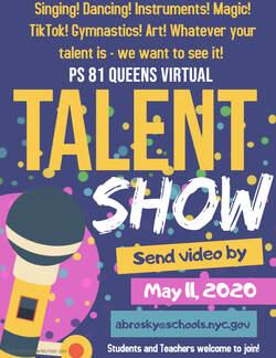 talent show - Www Nycgov Schools Kindergarten